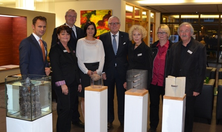 Foto Vernissage in Hanse-Lounge