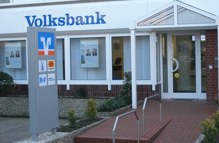 Filiale Goxel der VR-Bank Westmünsterland